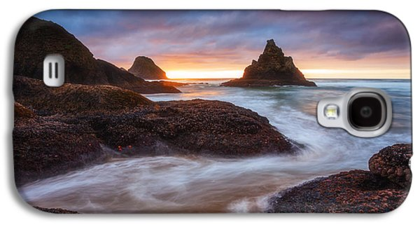 Pacific Ocean Prints Galaxy S4 Cases - Coastal Mysteries Galaxy S4 Case by Darren  White