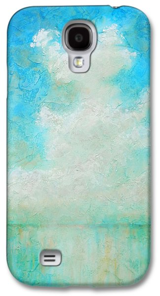 Clouds Paintings Galaxy S4 Cases - Coastal Galaxy S4 Case by Pam Talley
