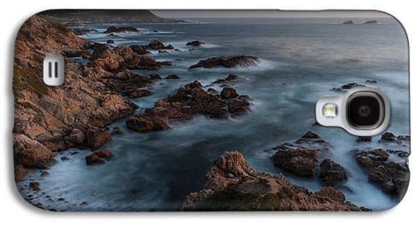 Big Sur Beach Galaxy S4 Cases - Coastal Tranquility Galaxy S4 Case by Mike Reid