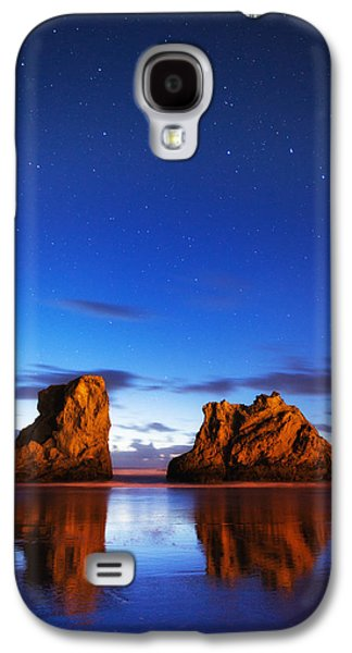 Sunset Greeting Cards Galaxy S4 Cases - Coastal Twilight Galaxy S4 Case by Darren  White