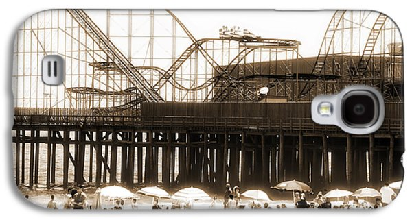 Seaside Heights Galaxy S4 Cases - Coaster Ride Galaxy S4 Case by John Rizzuto