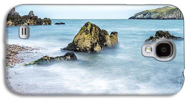 Raging Galaxy S4 Cases - Coastline Galaxy S4 Case by Adrian Evans