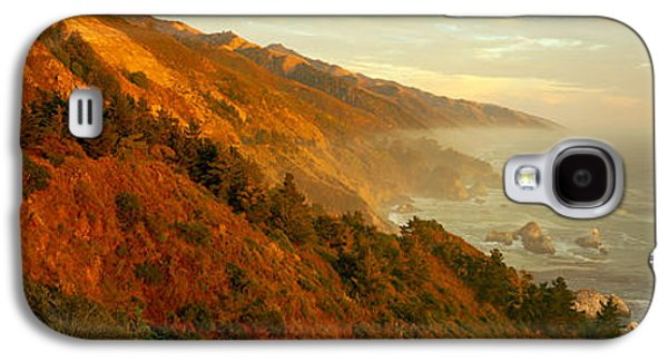 Coastline At Dusk, Big Sur, California Galaxy S4 Case by Panoramic Images