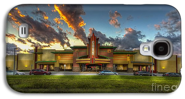 Big Screen Galaxy S4 Cases - Cobb Theater Galaxy S4 Case by Marvin Spates