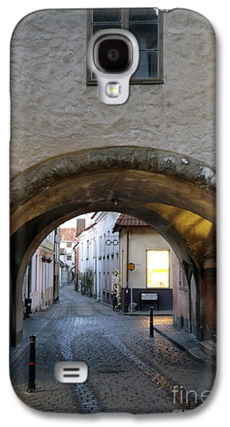 Mystifying Galaxy S4 Cases - Cobblestone and Arcade Galaxy S4 Case by Ladi  Kirn