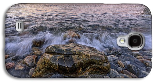 Maine Beach Galaxy S4 Cases - Cobblestones Galaxy S4 Case by Rick Berk