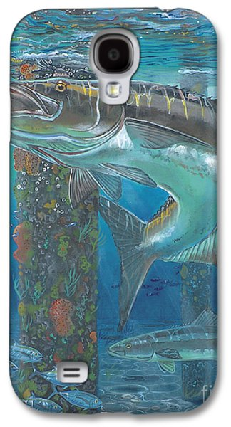 Wahoo Galaxy S4 Cases - Cobia Strike In0024 Galaxy S4 Case by Carey Chen