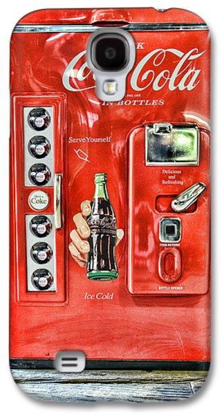 Coca-cola Retro Style Galaxy S4 Case by Paul Ward
