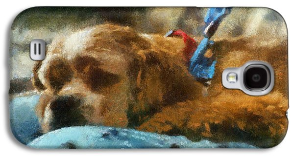 Canine Greeting Cards Digital Galaxy S4 Cases - Cocker Spaniel Photo Art 07 Galaxy S4 Case by Thomas Woolworth