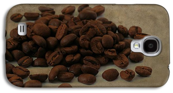 Coffee Drinking Galaxy S4 Cases - Coffee Beans In The Morning Galaxy S4 Case by Dan Sproul