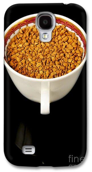 Mug Ceramics Galaxy S4 Cases - Coffee In Cup Galaxy S4 Case by Aleksey Tugolukov