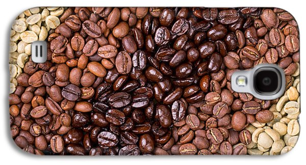 Crops Galaxy S4 Cases - Coffee selection Galaxy S4 Case by Jane Rix