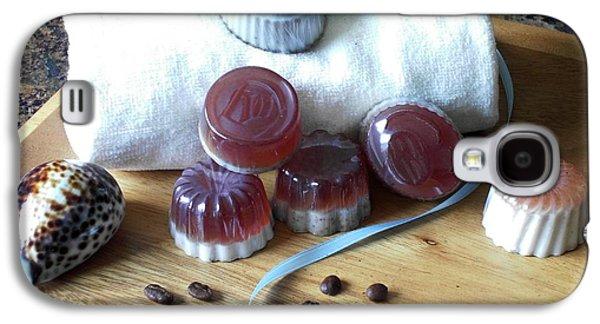 Handmade Galaxy S4 Cases - Coffee Soap Galaxy S4 Case by Anastasiya Malakhova