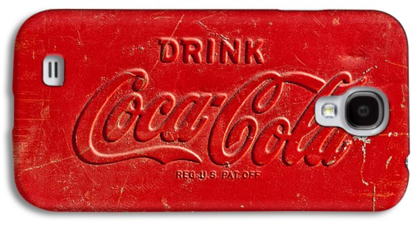 Coca-cola Signs Galaxy S4 Cases - Coke Sign Galaxy S4 Case by Jill Reger