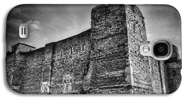 The Haunted House Galaxy S4 Cases - Colchester Castle Galaxy S4 Case by Svetlana Sewell