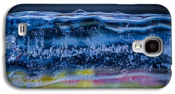 Abstracted Galaxy S4 Cases - Cold Colors Galaxy S4 Case by Mitch Shindelbower