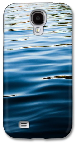 Sunset Abstract Galaxy S4 Cases - Cold Reflections Galaxy S4 Case by Parker Cunningham