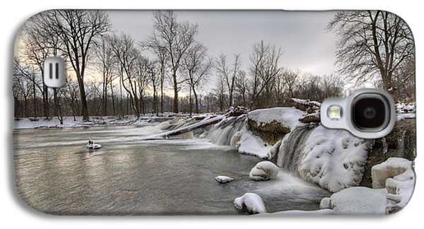 Indiana Winters Galaxy S4 Cases - Cold River Galaxy S4 Case by Alexey Stiop