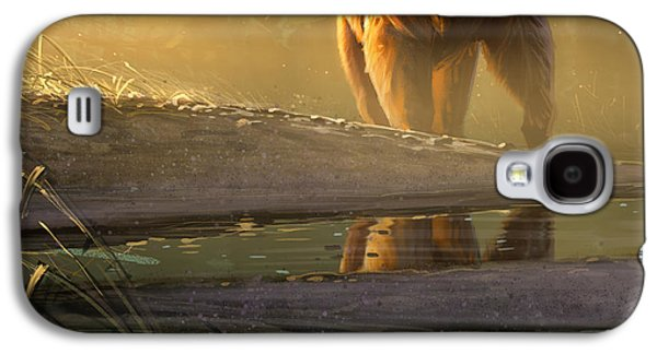 Wildlife Digital Art Galaxy S4 Cases - Cold Sunrise Galaxy S4 Case by Aaron Blaise