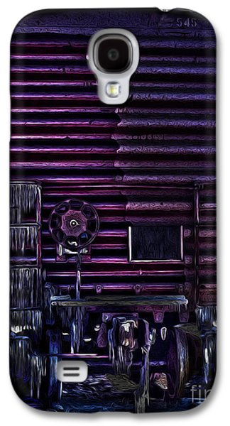 R. Mclellan Photography Galaxy S4 Cases - Cold Train Galaxy S4 Case by R McLellan