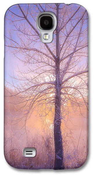 Landscape Acrylic Prints Galaxy S4 Cases - Cold Winter Morning Galaxy S4 Case by Darren  White