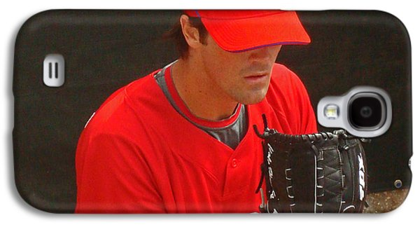 Hamels Galaxy S4 Cases - Cole Galaxy S4 Case by David Rucker