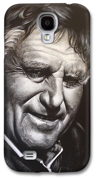 Rugby Paintings Galaxy S4 Cases - Colin Meads Galaxy S4 Case by Bruce McLachlan
