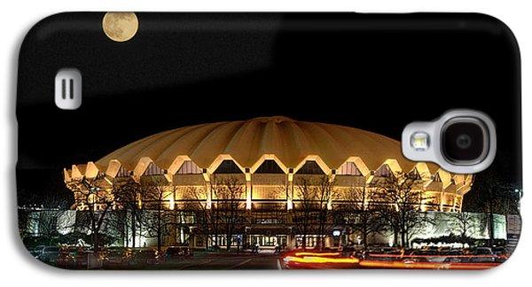 Dan Friend Galaxy S4 Cases - Coliseum night with full moon Galaxy S4 Case by Dan Friend
