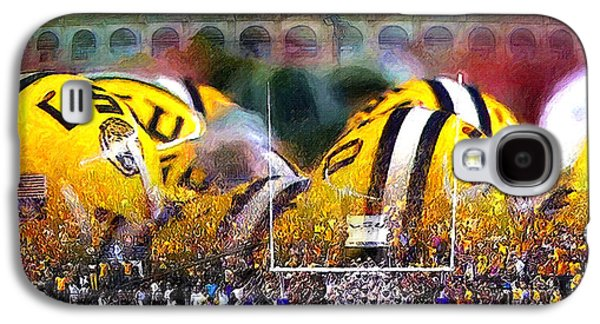 Collage Lsu Tigers Galaxy S4 Case by John Farr