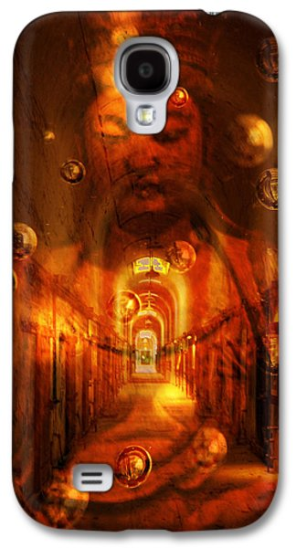 Inner Self Galaxy S4 Cases - Looking inward Galaxy S4 Case by Joel Zimmerman