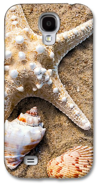 Original Photographs Galaxy S4 Cases - Collecting Shells Galaxy S4 Case by Colleen Kammerer