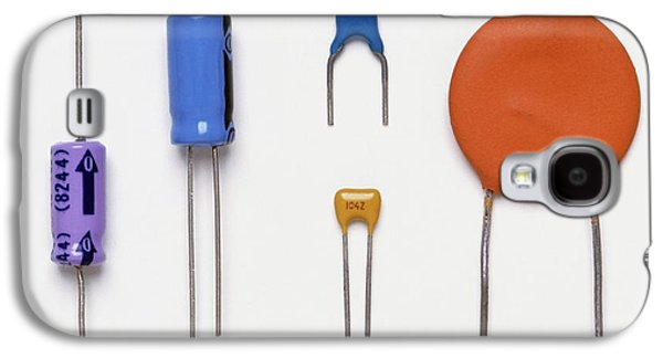 Collection Of Capacitors Galaxy S4 Case by Dorling Kindersley/uig