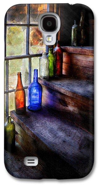 Savad Photographs Galaxy S4 Cases - Collector - Bottle - A collection of bottles Galaxy S4 Case by Mike Savad