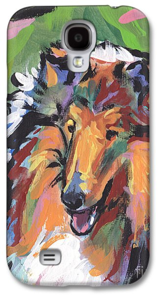 Puppies Galaxy S4 Cases - Collie Folly Galaxy S4 Case by Lea