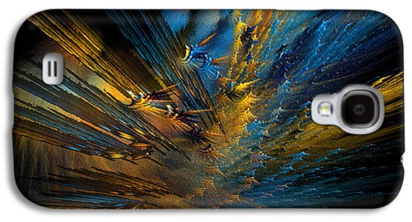 Abstract Digital Galaxy S4 Cases - Color Explosion Galaxy S4 Case by Camille Lopez