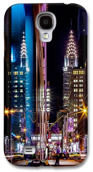 Color Of Manhattan Galaxy S4 Case by Az Jackson