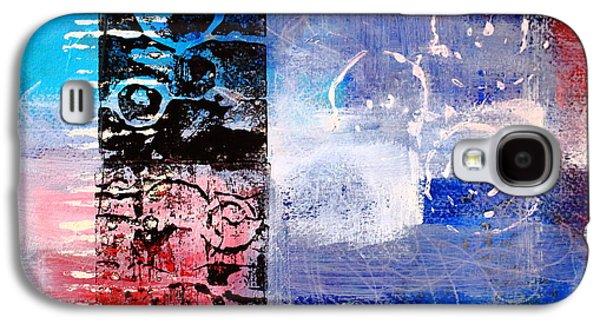 Color Scrap Galaxy S4 Case by Nancy Merkle