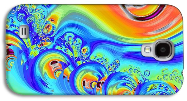 Rainbow Galaxy S4 Cases - Color Splash Galaxy S4 Case by Anastasiya Malakhova