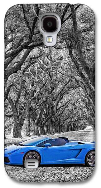 Steve Harrington Galaxy S4 Cases - Color Your World - Lamborghini Gallardo Galaxy S4 Case by Steve Harrington