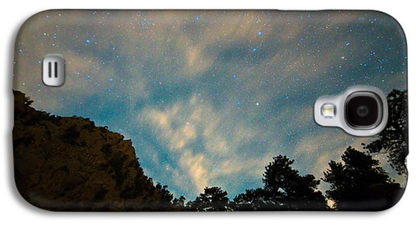 Stargazing Galaxy S4 Cases - Colorado Canyon Star Gazing  Galaxy S4 Case by James BO  Insogna