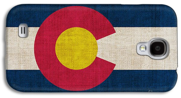 Declaration Of Independence Galaxy S4 Cases - Colorado state flag Galaxy S4 Case by Pixel Chimp