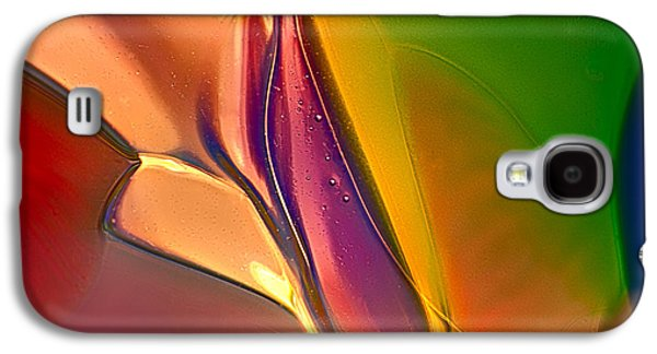Bright Colors Glass Art Galaxy S4 Cases - Colored Arrows Galaxy S4 Case by Omaste Witkowski