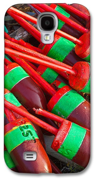 Bouys Galaxy S4 Cases - Colored Bouys Galaxy S4 Case by Benjamin Williamson