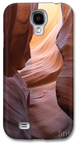 Nature Abstract Galaxy S4 Cases - Colorful Antelope Canyon Waves Galaxy S4 Case by Christiane Schulze Art And Photography