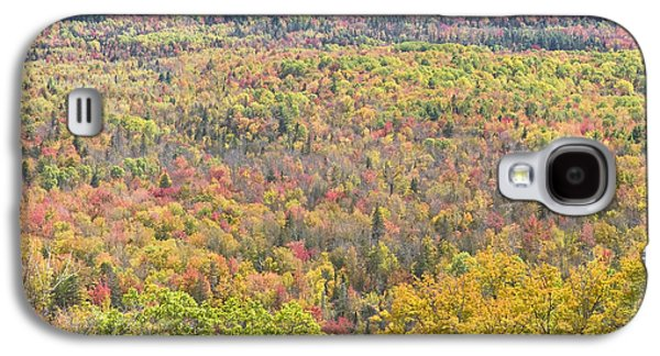 Maine Mountains Galaxy S4 Cases - Colorful Autumn Forest In Mount Blue State Park Weld Maine Galaxy S4 Case by Keith Webber Jr