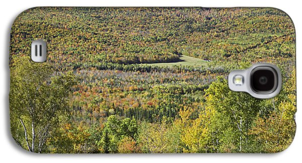 Maine Mountains Galaxy S4 Cases - Colorful Autumn Landscape of Weld Maine Galaxy S4 Case by Keith Webber Jr