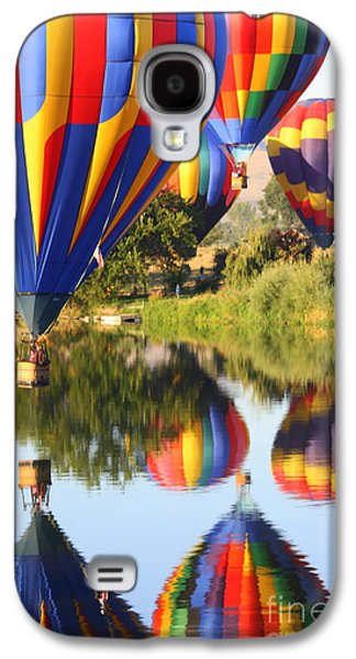Yakima Valley Galaxy S4 Cases - Colorful Balloons Fill the Frame Galaxy S4 Case by Carol Groenen