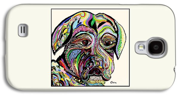 Boxer Galaxy S4 Cases - Colorful Boxer Galaxy S4 Case by Eloise Schneider