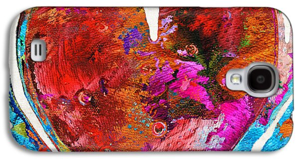 Wife Galaxy S4 Cases - Colorful Heart Art - Everlasting - By Sharon Cummings Galaxy S4 Case by Sharon Cummings