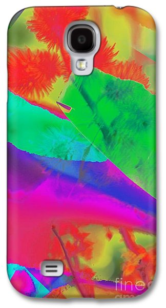 Torn Galaxy S4 Cases - Colorful Galaxy S4 Case by Kathleen Struckle